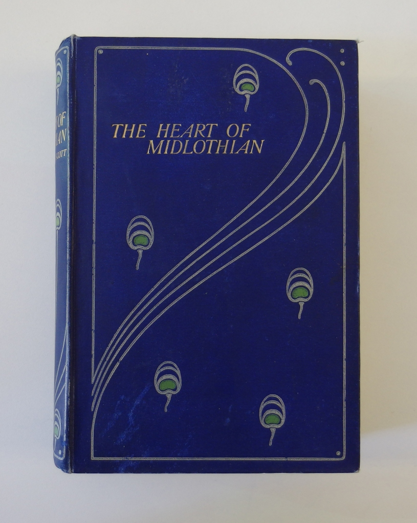 The Heart of Mid-Lothian by Sir Walter Scott, with binding by Talwin Morris (GSA Mackintosh Library, Talwin Morris Collection)