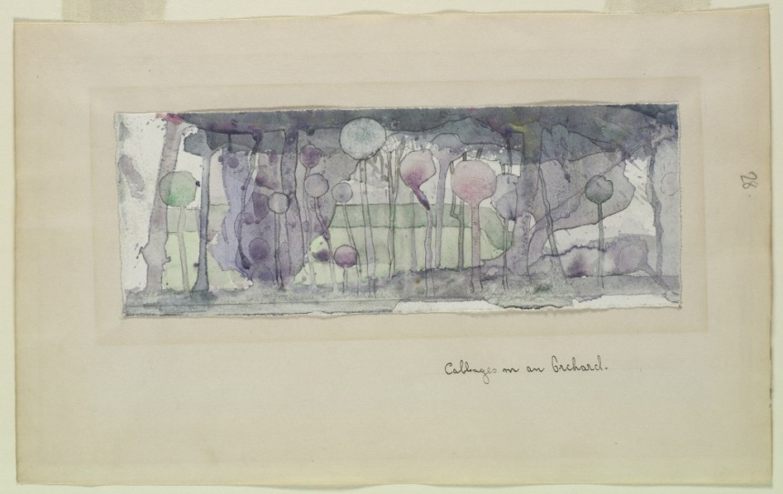 Cabbages in an Orchard (1894) by Charles Rennie Mackintosh (GSA Archives)