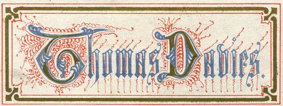 Bookplate of Thomas Davies
